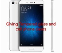 Wholesale Original Xiaomi Mi5 Cell Phone Snapdragon quot x1080 MP Quad Core GB GB Fingerprint ID NFC Quick Charge FDD LTE