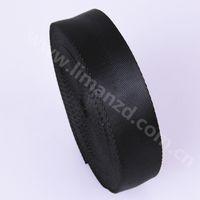 Wholesale 25mm herringbone nylon webbing black color inch bags strap fashion design liman ribbon factory hot sale