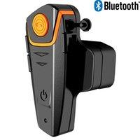 Wholesale Waterproof meters M IPX7 bluetooth headphone for motorcycle helmet and moblie with FM function