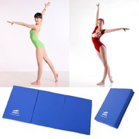 Wholesale Folding Gymnastics Fitness Mat Panel Aerobics Exercise Tumbling Gym Yoga Storag