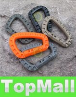 Wholesale LAI Hot Carabiner Climbing Hook plastic Camping Accessory Fit Outdoorsport Durable mix best quality free ship