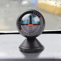 Wholesale Car Vehicle Inclinometer Angle Slope Level Meter Tool Gradient Balancer Black