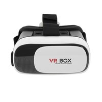 Wholesale Universal Google Cardboard VR BOX Virtual Reality D Glasses Game Movie D Glass For iPhone Android Mobile Phone Cinema NEW