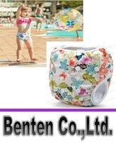 Wholesale Adjustable Baby Swim Diaper Nappy Pants Infant Baby Boy Girl Reusable Swimwear Colors Years Swimming Trunks Swimwear LLFA
