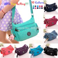 Wholesale 2016 New Waterproof Nylon Lady Shoulder Sling Bag Messenager Quality Kip Style Monkey Crossbody Bags for Women Handbag Colors