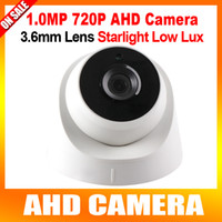 Cheap AHD camera Dome Best Starlight AHD camera
