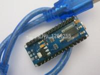 Livraison gratuite! Original Nano 3.0 ATmega328 support puces version mini FT232RL importés win7 Win8 pour Arduino avec un câble USB
