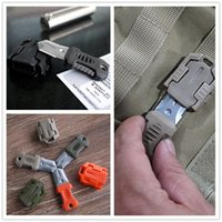 accessories for beetles - New Arrived EDC Tool Beetle MINI Tool Knife Necklace Outdoor Tool Use For Molle System