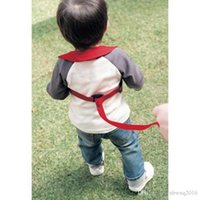 baby outings - 10 The New Colored Optional Infant Baby Toddler with Breathable Anti Walk Out of School with Row Outings Security Leashes TRQ0223