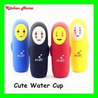 animal kettle - 280ML Cute Hug Design Water Bottle Kids Gifts Kettle Cute Animal Cartoon Vacuum Glass Cups for Children Babies Kinds Bottles