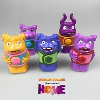 aliens books - 5 cm Children s Favourite Book Dreamworks Oh Toy Home Oh Alien Plastic PVC Lovely Kid Toy Baby Toy Action Figure