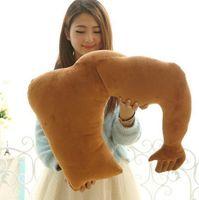 arm pillow boyfriend - Soft Plush Boyfriend Arm Pillow Cushions Sofa Bed Sleeping Throw Pillow Comfortable Musle Arm Pillow Hugging Body Cushion PPA122
