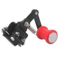 atv chain tensioner - MOTORCYCLE UNIVERSAL CHAIN TENSIONER GUIDE DIRT PIT BIKE ATV RED