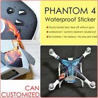 aircraft fuselage - DJI phantom Sticker PVC Decal Sticker Aerial aircraft stickers fuselage waterproof scratch battery remote sticker accessories