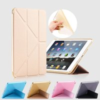 Wholesale Case For Ipad Pro inch Shapes Fold Stand TPU Soft Smart Case Glitter Silicone Cover for Ipad Auto Sleep Wake up