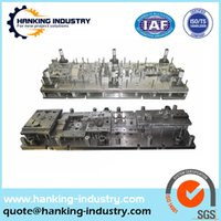 aluminum casting molds - custom stamping parts and stamping die and progressive molds and gasket stamping mould