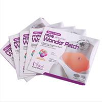 Wholesale MYMI Wonder Slim Patch Belly Abdomen Treatment Patches Body Wraps Lose Weight Fat Burning Cream Navel Sticker Patch Heath Care Box
