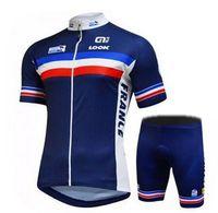 Cheap look Men Cycling Jersey Sets Road Bicycle Jerseys Tracksuits Bike Clothing Tour de France Race Sportswear Bib Shorts Suit XXS 5XL