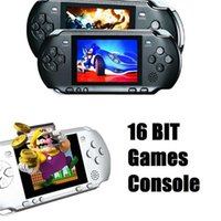 Wholesale Handheld Game Console Bit Handheld Game Console PXP3 Portable And Megadrive Games Video Games Consoles