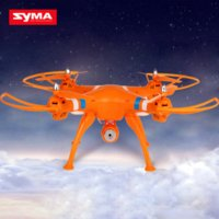 Wholesale Syma X8C Quadcopter RTF CH GHz Axis RC helicopter Aircraft MP Camera dron for Gopro Hero drones Remote Control Toys