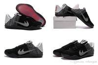 basketball court flooring - KB XI Last Emperor White Black Court Purple Sneakers Kids And Mens Basketball Kobe Sport Shoes