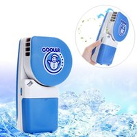 air china office - Home Office Effective Mini Air Conditioner Portable Rechargeable Hand Held Cooler Mini USB Fan HOA_106