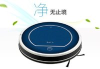 Wholesale Original CHUWI ILIFE V7 Bluetooth Mini Robotic Vacuum Cleaner for Home Wireless Dry Cleaning Appliances with Remote Control Blue