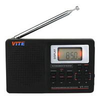 portable digital tv - New Portable DSP FM Stereo MW SW LW TV Radio World Band Receiver Digital Alarm Clock F9201B
