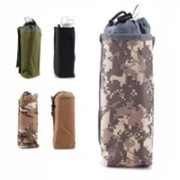 Wholesale Water bottle shaker bag and bottle to water bag Outdoor Tactical Army Molle Modular Insulated Heat Cold Water Bottle Bag Pouch c