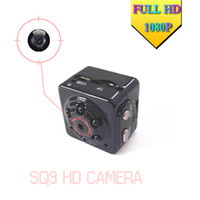 Wholesale SQ9 Mini DV Spy FULL HD P Sport Camera MP Car dvr Motion Detecting Video Multifunction Infrared lamp G Voice Video Recorder