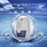 achat en gros de déshumidificateur calme-Brand New Mini Dehumidifier Portable 23W séchoir électrique Quiet Air 100-220V Compatible Air Dehumidifier Pour la maison Salle de bain Bureau