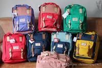 Wholesale Doughnut Unisex Waterproof Backpack Leisure Travel Bag Outdoor Backpack Vintage Fashion Men s Laptop Backpacks School Bags