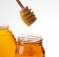 Wholesale Wooden Honey stick Dippers honey stir Honey rod Honey dipper cm cm cm kitchen tool free DHL