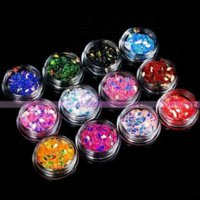 Wholesale 12 Boxes Nail Art New Chic Bling Horse Eye Design Manicure Sets Decoration Gift gift boxes to decorate