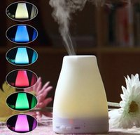 Wholesale 100ml Essential Oil Diffuser Portable Aroma Humidifier Diffuser LED Night Light Ultrasonic Cool Mist Fresh Air Aromatherapy CAST Free DHL
