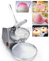 Wholesale 250w Electric Ice Crusher Shaver Machine Snow Cone Maker Shaved Ice DIY