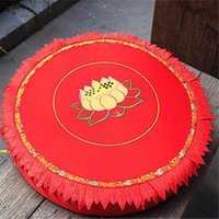 Wholesale lotus meditation cushions embroidery lotus buddhist mat cm
