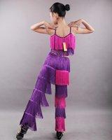 Costume de danse latine pour enfants de grande taille pour filles Salsa Tango Costume de défaisance de performance standard 2015 New Summer Summer Style