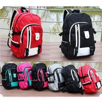 Wholesale Travel leisure backpack D nylon neutral fashion student bag outdoor sports shoulder bag colors available