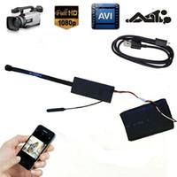 Wholesale HD P Wireless SPY Hidden Camera DIY Wifi Module Video DVR IP CAM Recorder