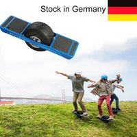 big electric motors - Germany Stock One Wheel Big Wheel Skateboard Unicycle Electric Self Balancing Scooter W Motor Drifting Hoverboard