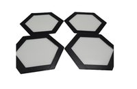 baking dough - Hexagon shape slick Silicone Fiberglass Silicone Macaron Baking Mat Silpat Baking Mat Tray Oven Dough Rolling Liner Sheet