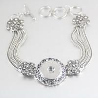 american diamond bangles - Hot NOOSA Bracelets chunk button snap bracelets bangle cuff DIY jewelry women statement jewelry Christmas gift