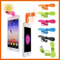 android phone armband - Portable CellPhone Mobile Phone Mini Fan Cooling Cooler For iPhone s s Plus Android Phone