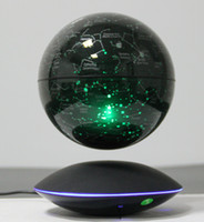 Wholesale 20 dhl quot Magnetic Rotating Globe Anti Gravity Floating Levitating Earth with led light