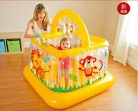 Wholesale New Style Crib inflatable thickening baby toddler bed guardrail child Baby Playpens fence toy gift