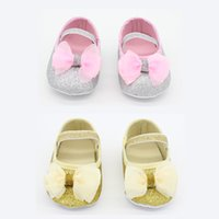 accessoire shoes - New bowknot Baby First Walker Shoes infant baby prewalker kids Antiskid shoes girls shoes Photograph Accessoire