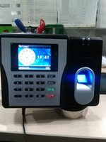 Wholesale MX629 Highest Performance Fingerprint Time Attendance TCP IP Time Clock Users Employee Time Recorder