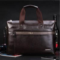 Wholesale New Fashion Men s Briefcase PU Leather Business Shoulder Bags Quality Stylish Brand Handbags Brand Tote Bag for Man XB114