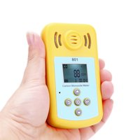 Wholesale Carbon Monoxide Gas CO Detector LCD Display and Sound light Alarm Sensitive Gas Analyzer for Home Security